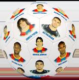 Футбольный мяч с фотографиями