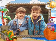 Детские фотомагниты